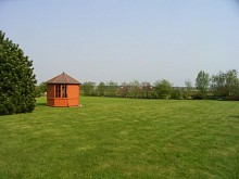 An den Weiden - großzügiger Garten mit Blick auf die Weiden