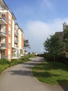 Haus Strandpalais - eigener Durchgang zum Strand